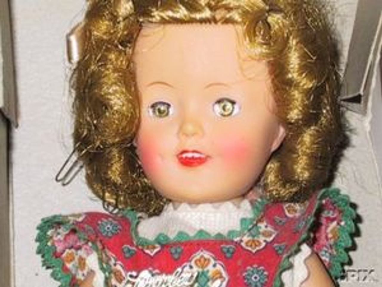 Fifty's Blond 53 KatSilk Saran Doll Hair
