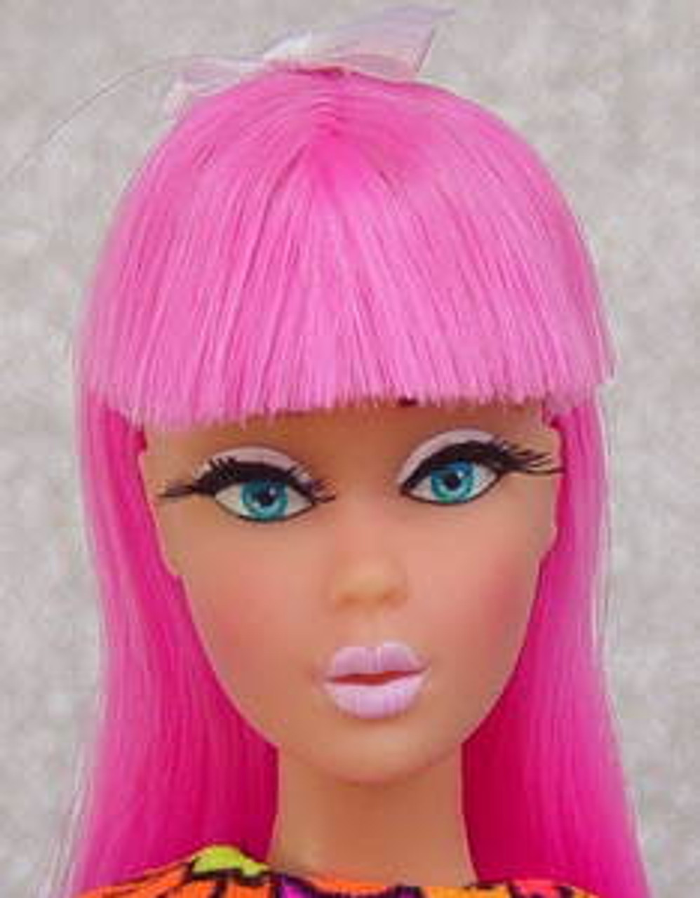 Pinky Pinky 57 KatSilk Saran Doll Hair