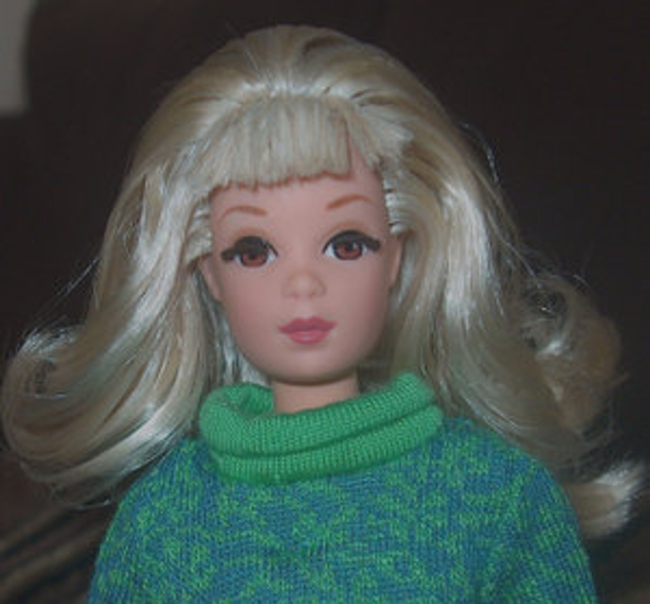 Limited Blond 74 KatSilk Saran Doll Hair