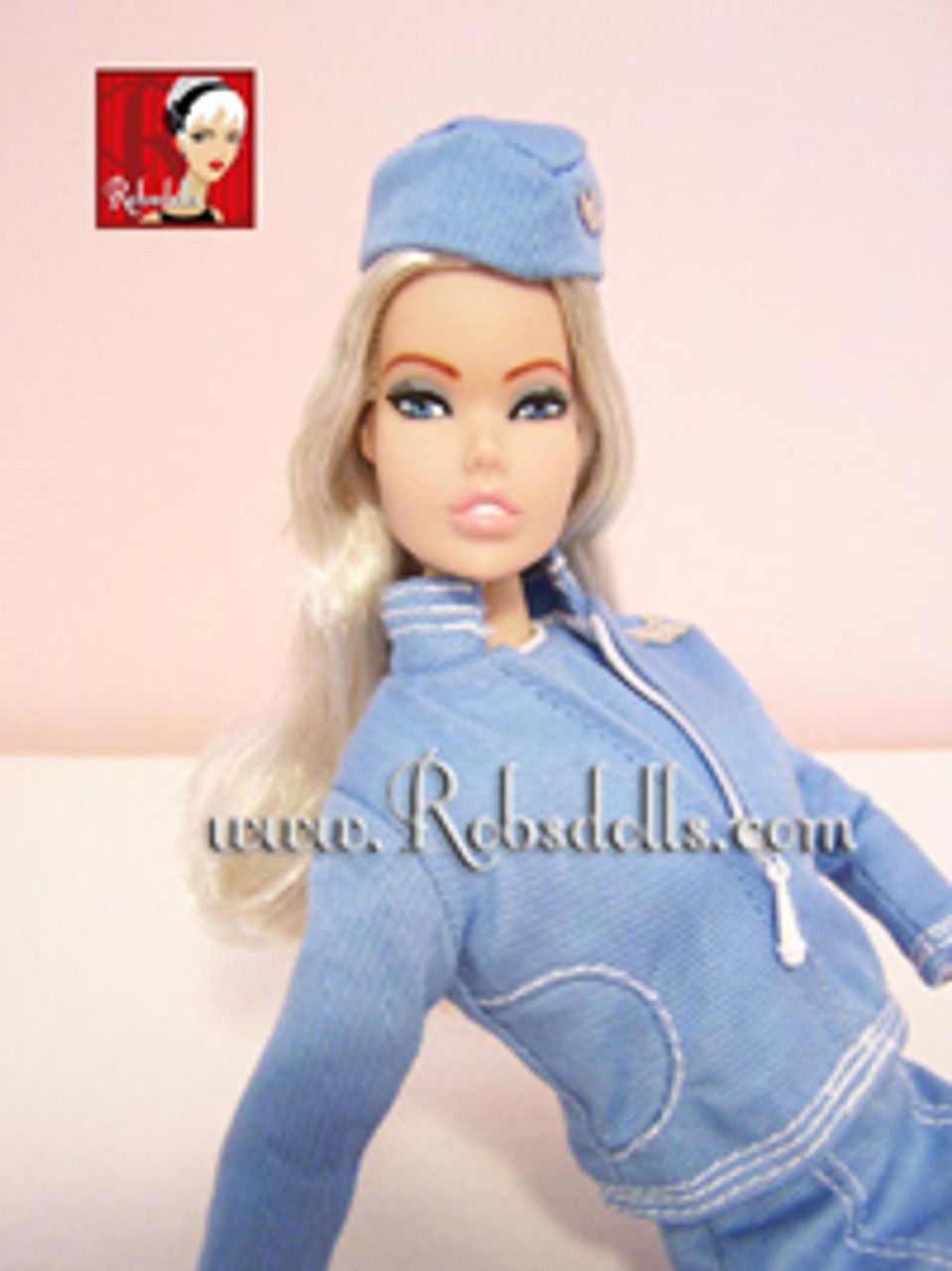 Chaud Blond 78 KatSilk ® Saran Doll Hair