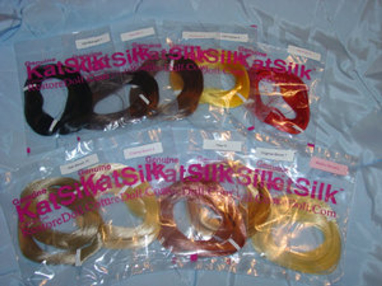 20 Skein Special KatSilk® Saran Doll Hair