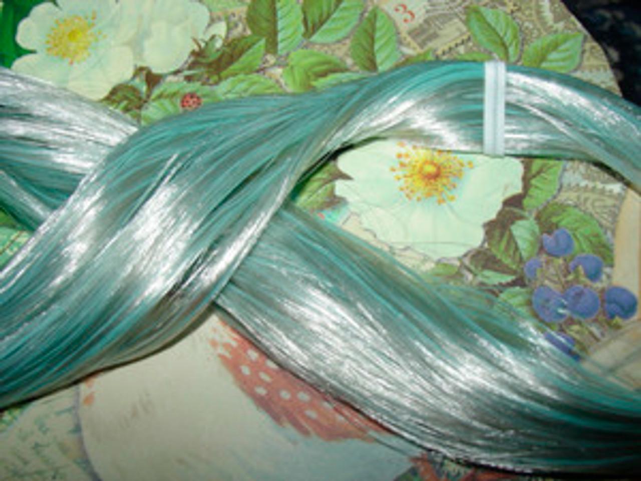 Foxy Blue (99) KatSilk Saran Doll Hair