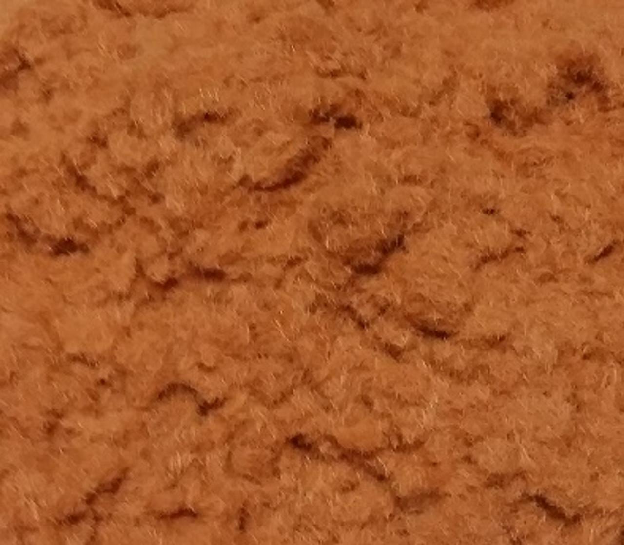 Rust Brown Flocking