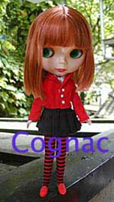 Cognac 36 KatSilk® Saran Doll Hair