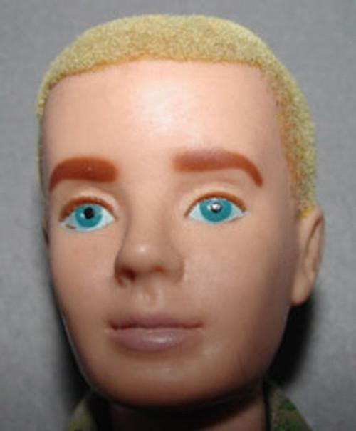 Flocked Ken Doll Paint Kit