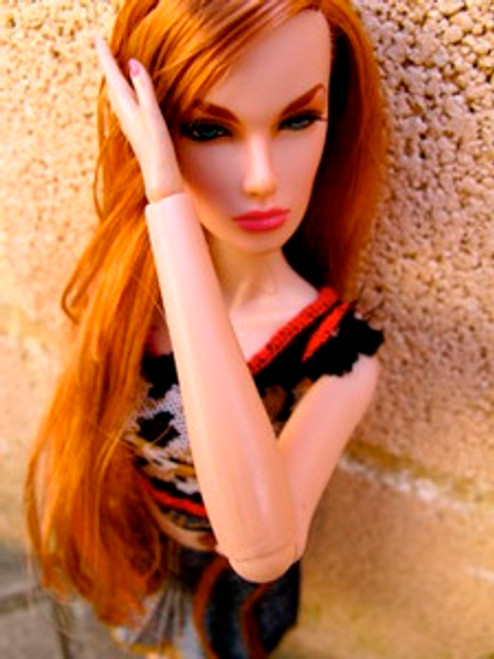 Archie 94 KatSilk ® Saran Doll Hair