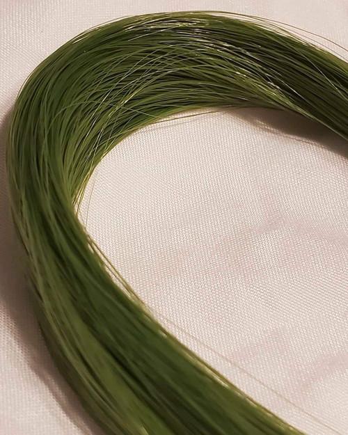 Ethereal Green 123 KatSilk Saran Doll Hair