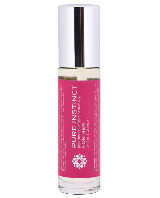 Pure Instinct Pheromone Perfume Oil Roll On for Her - 10.2 Ml