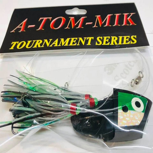 "005-King/A-TOM-MIK ""Black Glow Green"" Meat Rig"