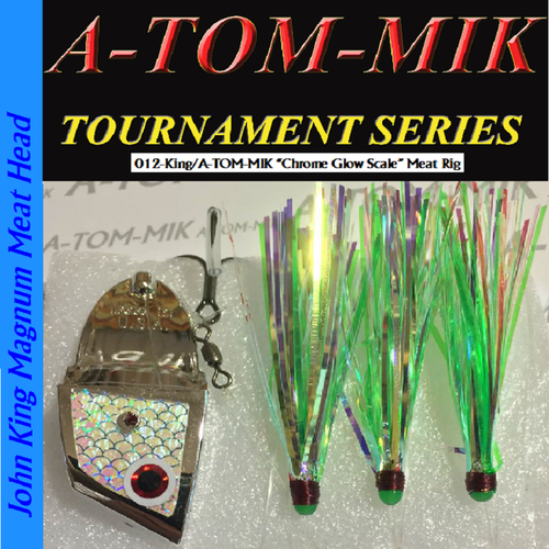 "012-King/A-TOM-MIK ""Chrome Glow Scale (aka Pro/Am C)"" Meat Rig"