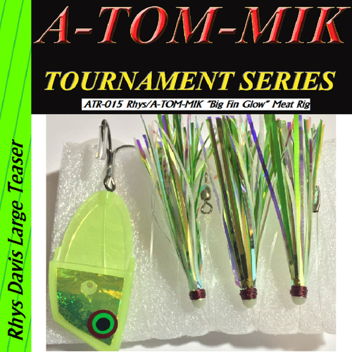 "ATR-015 Rhys/A-TOM-MIK ""Big Fin Glow"" Meat Rig"