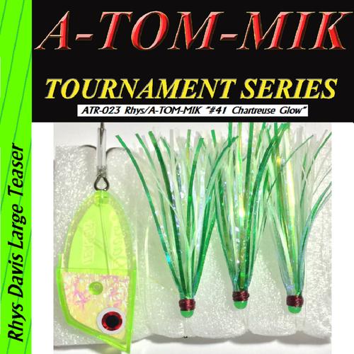 "ATR-023 Rhys/A-TOM-MIK ""#41 Chartreuse Glow"" Meat Rig"