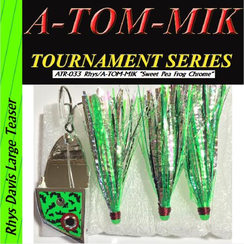 "ATR-033 Rhys/A-TOM-MIK ""Sweet Pea Frog Chrome"" Meat Rig"