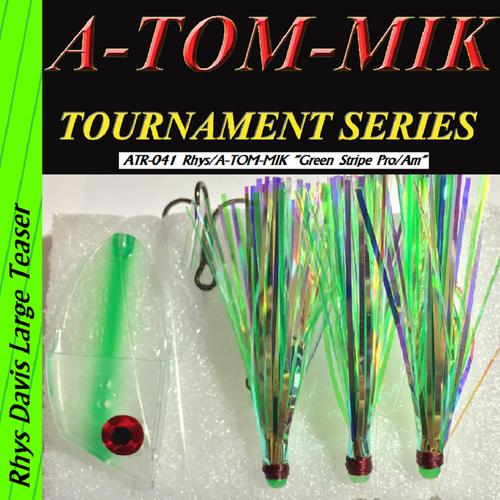 """ATR-041 Rhys/A-TOM-MIK """"Green Stripe Pro/Am"""" aka """"Hulk"""" Meat Rig"""
