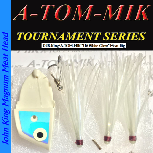 """028-King/A-TOM-MIK """"UV White Glow"""" Meat Rig"""