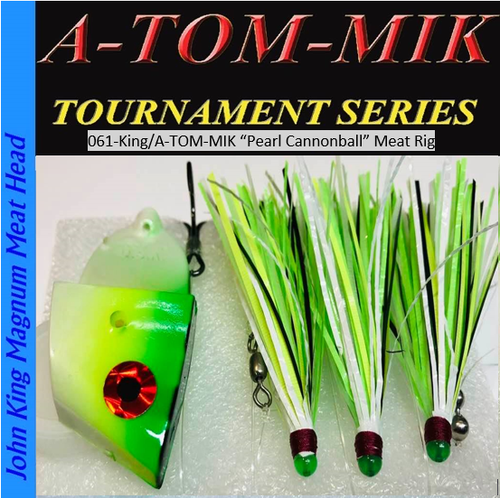 """061-King/A-TOM-MIK """"Pearl Cannonball"""" Meat Rig"""