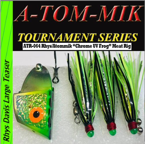 "ATR-064 Rhys/A-TOM-MIK ""Chrome UV Frog"" Meat Rig"