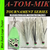 """ATR-034 Rhys/A-TOM-MIK """"Green Frog Glow"""" Meat Rig"""