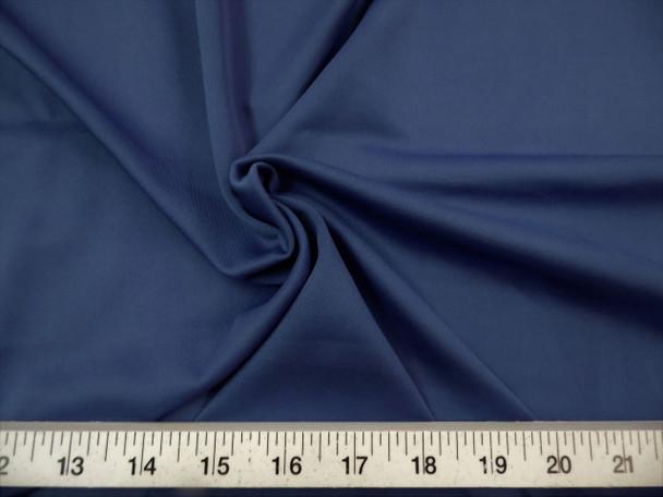 Discount Fabric Techno Scuba Polyester Spandex 4 way Stretch Navy TS05