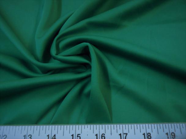 Discount Fabric Techno Scuba Polyester Spandex 4 way Stretch Emerald Green TS09
