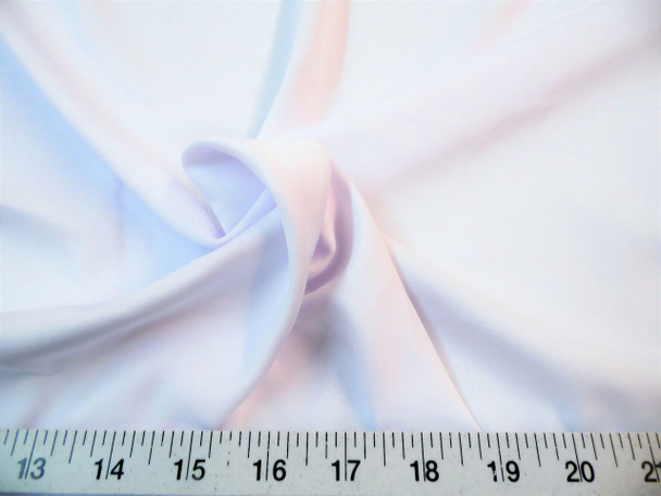 Discount Fabric Techno Scuba Polyester Spandex 4 way Stretch White TS10