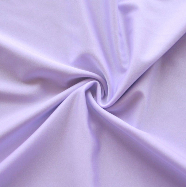 Discount Fabric Light Weight Lycra Spandex 4 way stretch Pastel Purple LY105