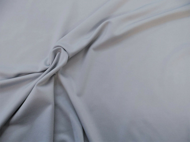 Discount Fabric Polyester Lycra Spandex 4 way stretch Grey Gray LY923