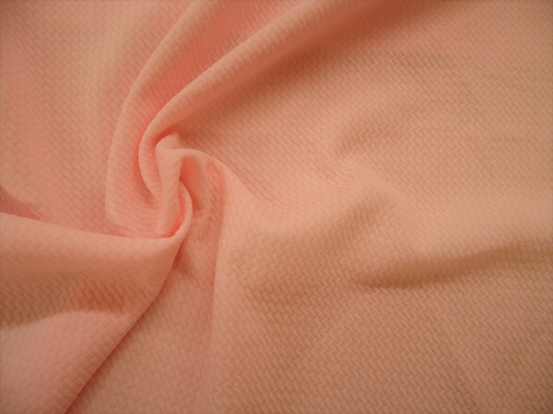 Bullet Textured Liverpool Fabric 4 way Stretch Peach S25