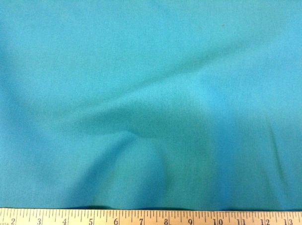 Discount Fabric Fine Twill Turquoise TW03