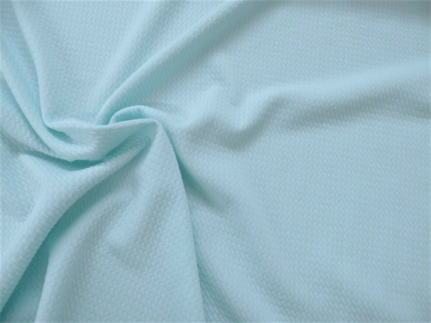 Bullet Textured Liverpool Fabric 4 way Stretch Pastel Blue R40