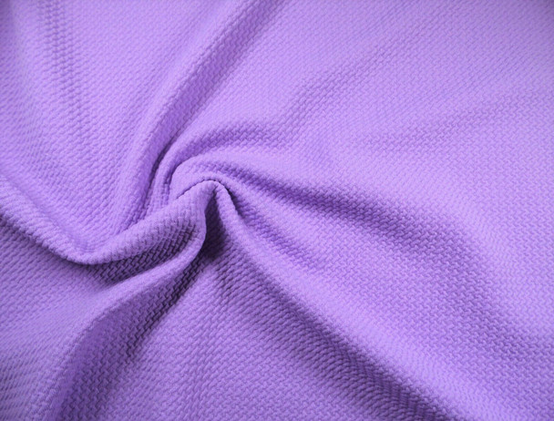 Bullet Textured Liverpool Fabric 4 way Stretch Lilac Purple Q31