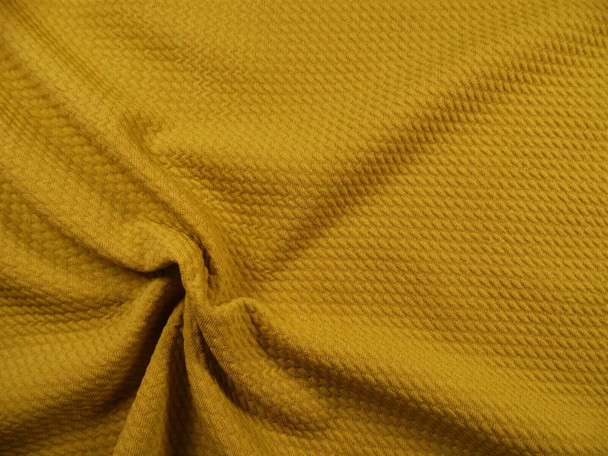 Bullet Textured Liverpool Fabric 4 way Stretch Harvest Gold T37