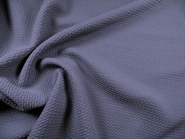 Bullet Textured Liverpool Fabric 4 way Stretch Dark Gray X43