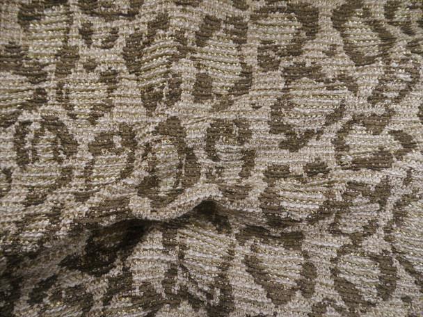 Robert Allen Beacon Hill Fabric Fauve Walnut Upholstery II45