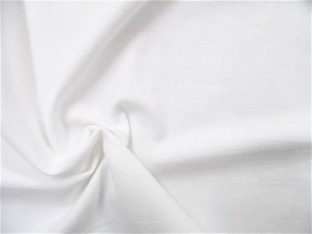 Fabric White Cotton Face Mask Material super soft 70 inches wide