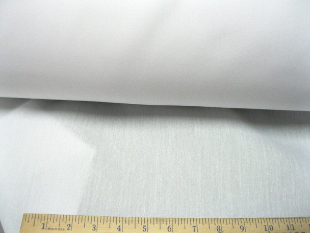 Discount Fabric  Cotton Blend  White Lining Material
