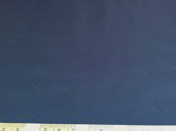 Discount Fabric Ripstop Rip Stop Carbon Stripe Water Resistant Navy RS32