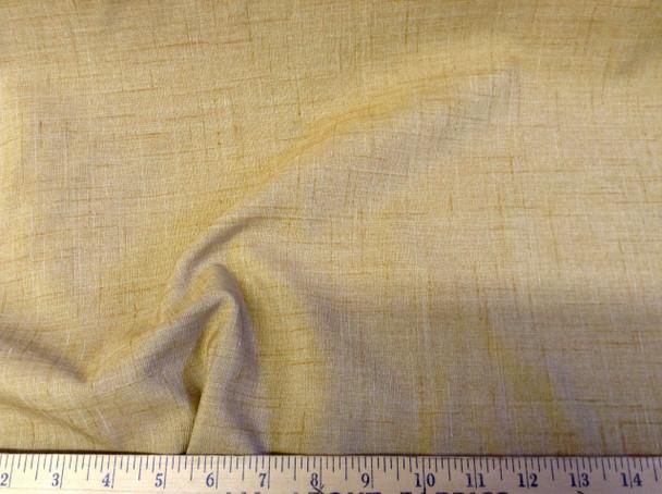 Discount Tablecloth Fabric Linen Blend Mottled Brown DR09