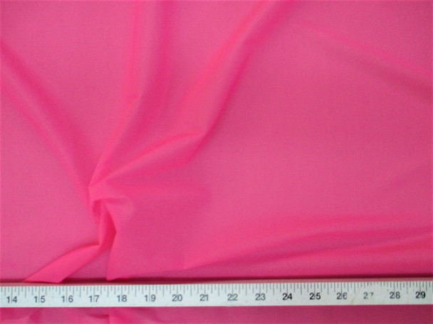 Discount Fabric Pink PowerNet Mesh Spandex Stretch sheer PO321