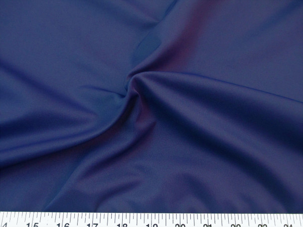 Discount Fabric Challis Apparel Top Weight Navy Soft and Flowing CH24