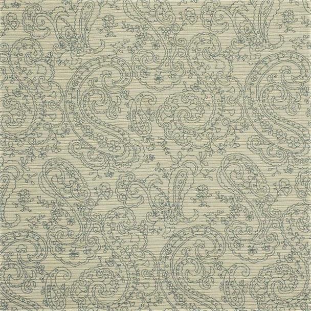 Fabric Robert Allen Beacon Hill Ana Reversible Smoke Upholstery Floral *J43