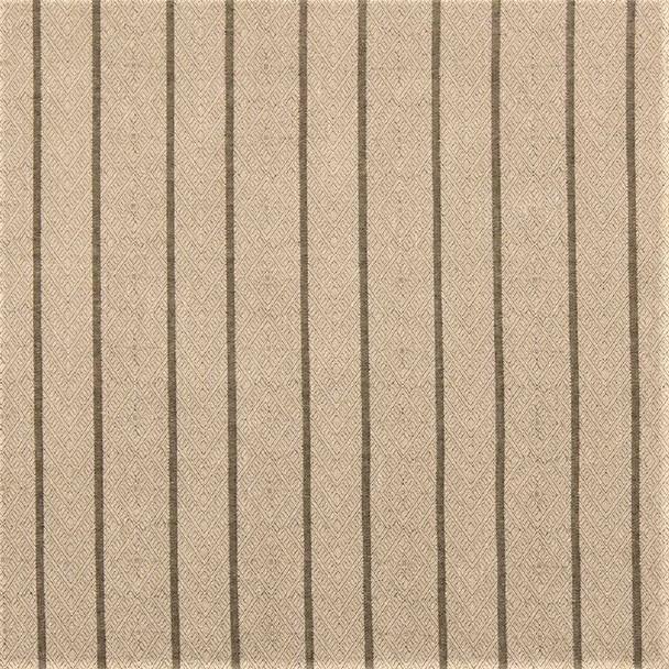 Fabric Robert Allen Beacon Hill Dauphin Stripe Sisal Linen Upholstery *J42
