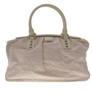 Louis Vuitton Pink Denim Handbag
