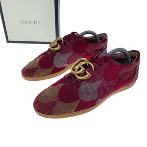 Gucci Floral Wave Jacquard Trainers