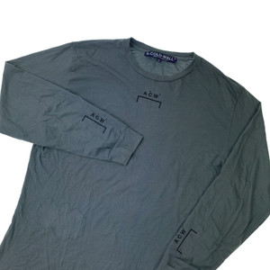 A-COLD-WALL* Grey Long Sleeve T Shirt