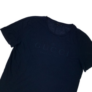 Gucci Navy Made In Italy T Shirt