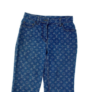 Louis Vuitton Denim Monogram Jeans