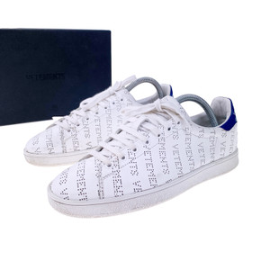 Vetements Perforated Leather Trainers