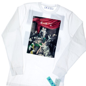 Off-White Caravaggio Painting Long Sleeve T Shirt