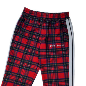 Palm Angels Plaid Sweatpants